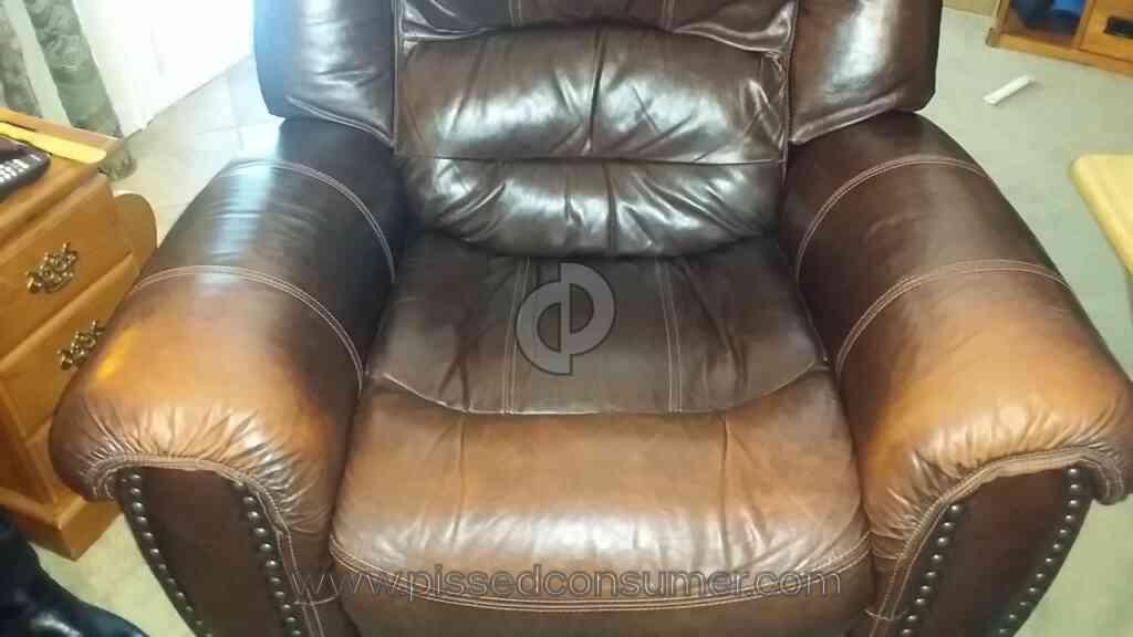 Mealeys Furniture   Flexsteel Leather Furniture Set Review From  Philadelphia, Pennsylvania