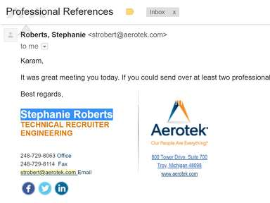 Aerotek Job Search and Employment review 299602