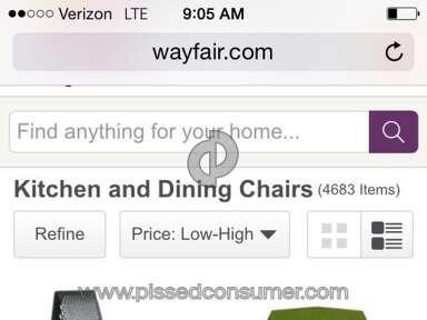 Wayfair Website review 63611