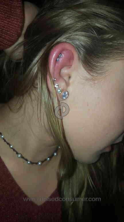 Claires Ear Piercing Review Dec 27 2017 Pissed Consumer