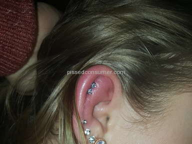 Claires - Ear Piercing Review
