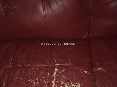 Harlem Furniture - Furniture is peeling and cracking so bad