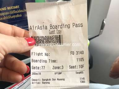 Air Asia Baggage Policy review 357786