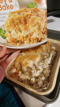 Great Value Turkey And Dressing Bake Frozen Meal