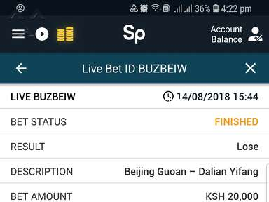 "Sportpesa - Beijing duoan vs Dalian Yifang(14/8/2018)ch""over"" to ""under"""