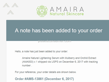Amaira Natural Skincare Cosmetics and Personal Care review 250874