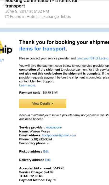 621 Uship Reviews and Complaints @ Pissed Consumer