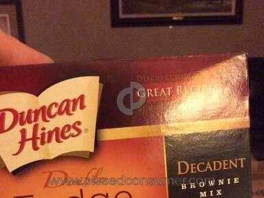Duncan Hines - Mix bag sliced