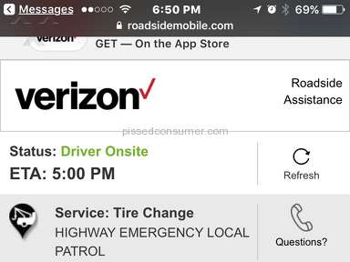 Verizon Wireless Roadside Assistance review 255854