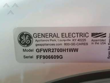 Ge Appliances Gfwr2700h1ww Washing Machine Review from San Antonio, Texas