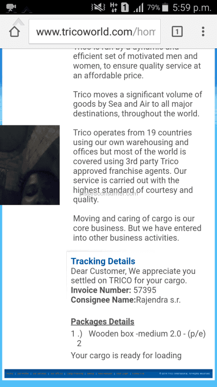 3 Trico International Reviews and Complaints @ Pissed Consumer