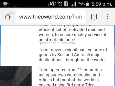 Trico International Shipping Service review 171592