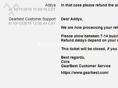 Gearbest Shipping Service review 401884