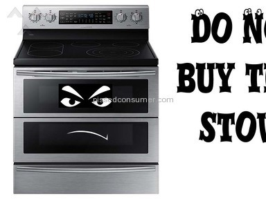 Samsung Electronics - Do not buy this Samsung FlexDuo Range stove