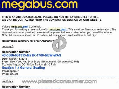 Megabus Transport review 71259
