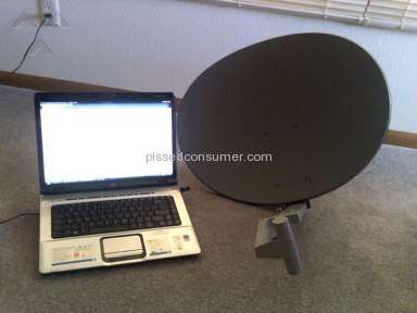 Rise Broadband - Huge, Ugly, UNNEEDED Dish Installed