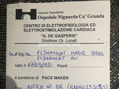Medtronic program problem