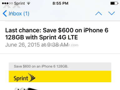 Sprint - Account Review from Moreno Valley, California