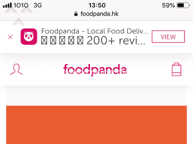Foodpanda Hong Kong Customer Care review 359074