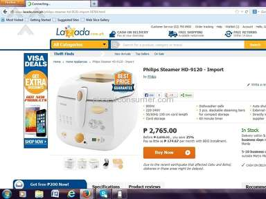Lazada Philippines Auctions and Internet Stores review 30077