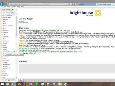 Bright House Networks doesn't know what they are doing!
