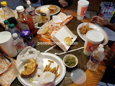 Popeyes Louisiana Kitchen Cajun Surf And Turf Combo Meal review 571917