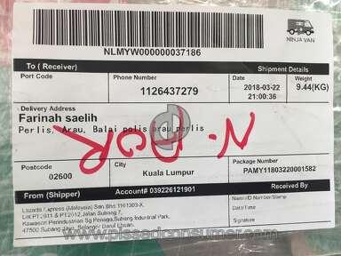 Lazada Malaysia - Beli pampers harga sekotak, tapi yang sampai hanya sebungkus