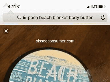 Perfectly Posh - Upset beach blanket body butter is sold out!