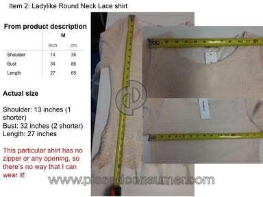 Fashionmia Shirt review 134797