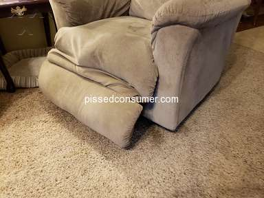 Lazboy - Recliners used to hold up