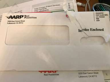 AARP SHAMEFULL GRIFTERS WHO SEND UNSOLICITED INVOICES TO EXPLOIT THE ELDERLY