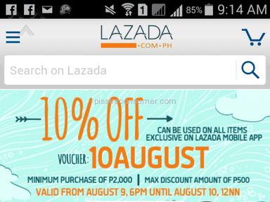 Lazada Philippines Auctions and Internet Stores review 82575