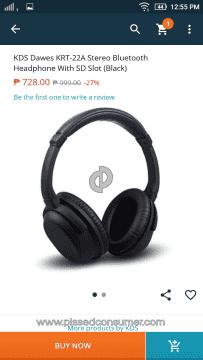 Kds Headphones Krt-22a Over-ear Headphones