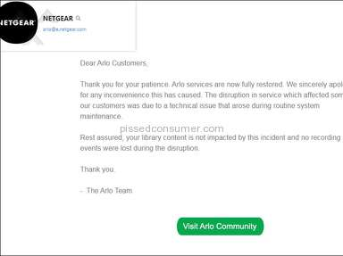 Arlo - Junk, Poor Customer Service.