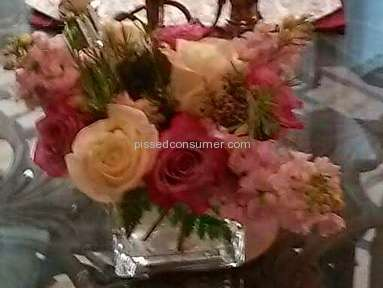 1800flowers Spring Medley Arrangement review 131923