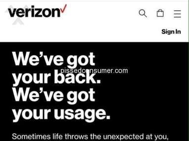 AD deceiving and down right misleading... Verizon don't have your back!!
