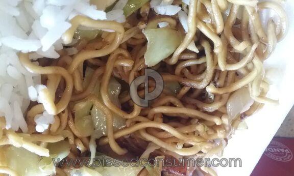 Panda Express Chow Mein Pasta