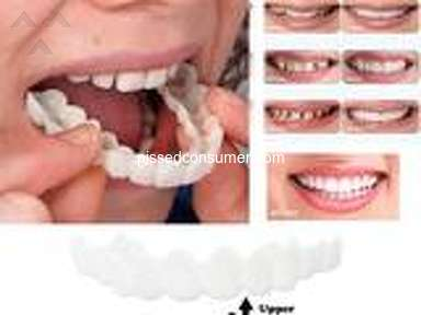 As Seen On Tv - I placed an order for Snap on Smile Upper & Lower Teeth × 1