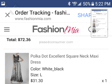 Fashionmia Dress review 216216