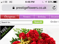Prestige Flowers - Shocking product and awful customer service