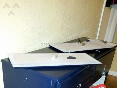 Cymax Stores - Received Damaged Dresser