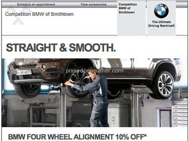 BMW USA ad a disgrace to  BMW owners!