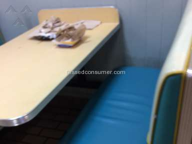 Long John Silvers - Horrible service rude employees and unsanitary facility