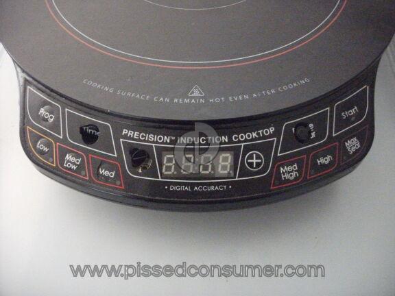 Nuwave Oven Cooktop