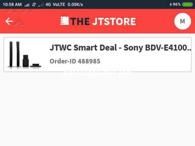 The Jt Store - Prepaid order no any comfirmation