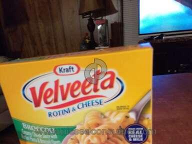 Velveeta - We purchased ten boxes of rotini & cheese they were all half empty