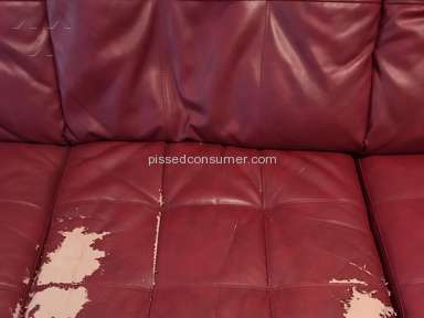 Simmons Upholstery - Simmons sectional sofa is embarrassingly poor quality.
