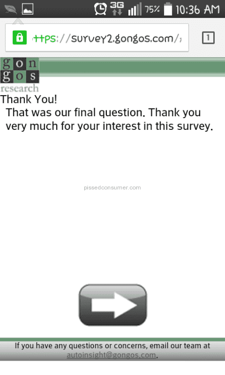 Samplicious surveys are all down for me and give this error ...