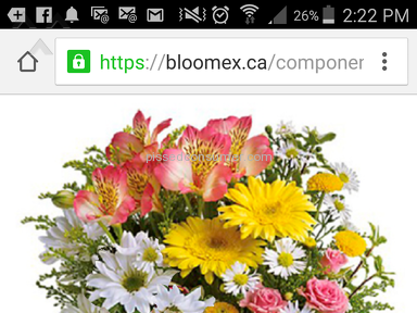 Bloomex Flowers Bouquet review 134081