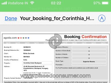 Agoda - Fraud Booking Site